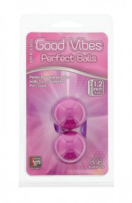 Dream toys - Вагинальные шарики GOOD VIBES PERFECT BALLS, LAVENDER (DT20079)